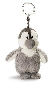 Nici 33160 - Pinguin Schlüsselanhänger, hellgrau