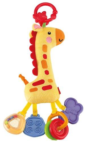 Fisher-Price Soft Clacker, Giraffe front-112107