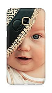 Amez designer printed 3d premium high quality back case cover for Samsung Galaxy C5 (Baby Child Hat)