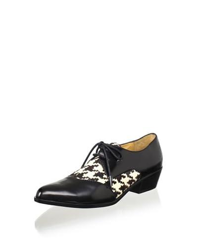 L.A.M.B. Women's Olesia Oxford  - Black