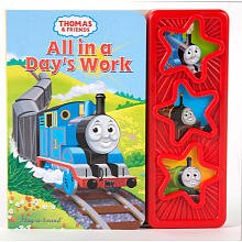 3 Button Sound Book - Thomas & Friends - 1