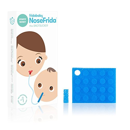 FridaBaby Nasal Aspirator with 20 Extra Hygiene Filters