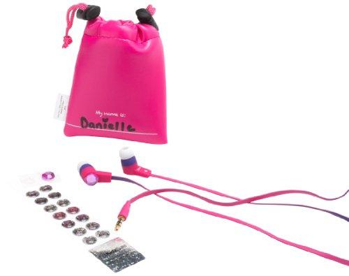Sms Audio Ks-2013-Gdiy-Eb Kidzsafe Girls Diy Earbuds - Pink