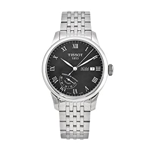 Tissot Men's T0064241105300 Le Locle Stainless-Steel Automatic Black Dial Watch