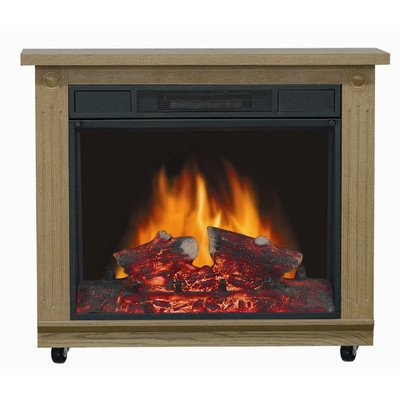 Comfort Glow EF5708 Belleville Electric Mobile Fireplace withThermostat, Traditional Oak Finish photo B00519AEVA.jpg