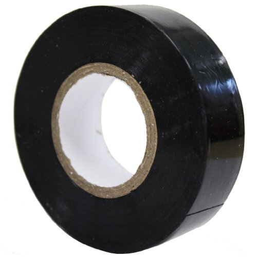 All Trade Direct 5X Black Electrical Pvc Insulation Tape 19Mm X 20M Professional British Standard