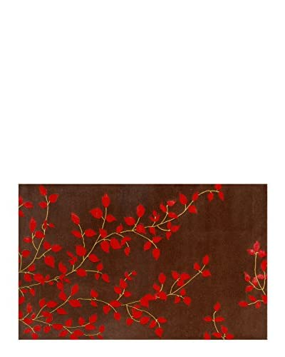 Pop Accents Hannibal Scatter Rug, Brown, 16 x 27