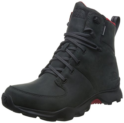 The North Face Men's ThermoBall Versa Dark Shadow Grey/TNF Red 10 none