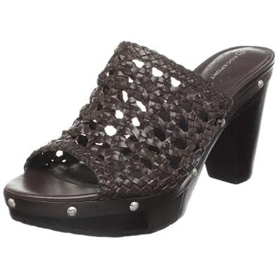 Rockport Women's Katja Clog Sandal Dark Brown Casual K55982 3 UK