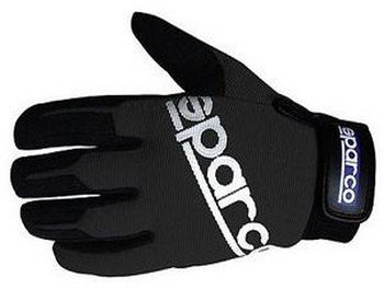 sparco-meca-schwarz-flexibel-einstellbar-protective-fahren-mechanic-gloves-small-black