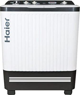 Haier XPB 72-713S Semi-automatic Top-loading Washing Machine (7.2 Kg, White)