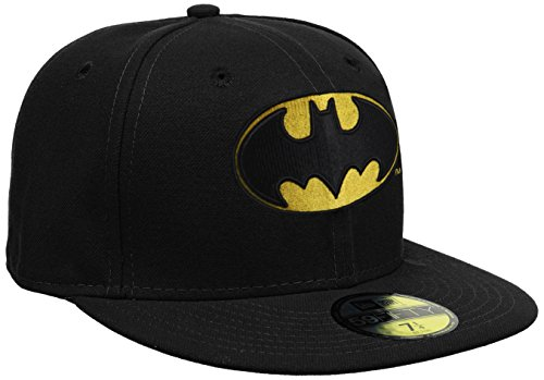 New Era - Cap Character Basic Batman, Berretto unisex, Black, 7 1/8