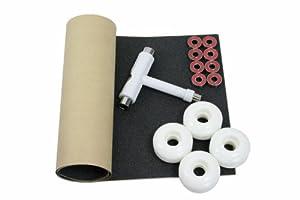 Buy Ultimate Skateboard Package Skateboard Wheels + Bearings + Skate Tool + Skate Grip by SK8PACK