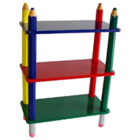 Beck International Children's Pencil Bookcase
