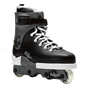 Razors Cult Street Aggressive Skates BLACK WHITE by Inline Skates and Parts