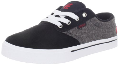Etnies Men's Jameson 2 Skate Shoe, Black/Red/White, 11.5 D US