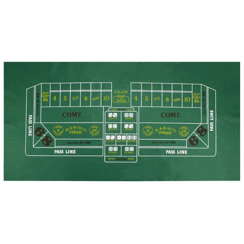 Craps Table Felt by Brybelly (Felt Craps Table compare prices)