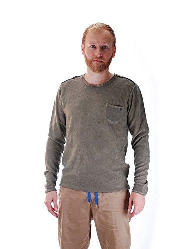 khujo -  Felpa con cappuccio  - Abbigliamento - Uomo verde