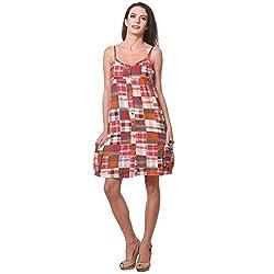 KOTTY Checks Print Hanky Hem Dress