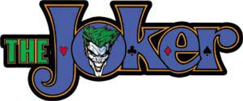 Licenses Products DC Comics Batman Joker Logo Sticker - 1