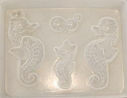 Seahorse family mold 525