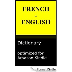 French - English Reader's Dictionary - Second Edition (English Edition)