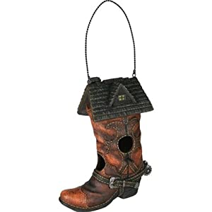 River's Edge Rivers Edge Products Cowboy Boot Birdhouse at Sears.com