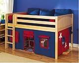 Maxtrix Full Mansion Low Loft Bed