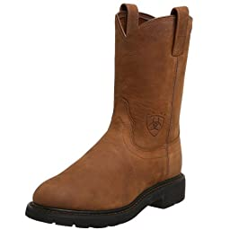 Ariat Men\'s Sierra Work Boot, Aged Bark, 12 EE US