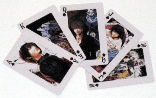 Death Note Playing Cards Poker Deck CM20629