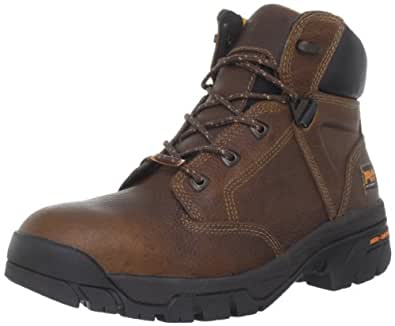 Timberland PRO Men's Helix 6 Inches Soft Toe Work Boot,Brown,7 M US