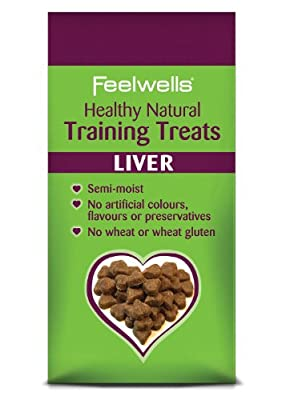 Feelwells Semi Moist Liver Training Treats (Pack of 7)