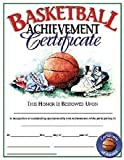 Olympia Sports AW182P Basketball Certificate