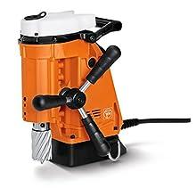 "Jancy Magforce Portable Magnetic-Base Drill, 240V, 5.1 Amp Motor, 1-5/8"" Diameter x 2"" Depth Capacity"