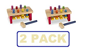 Melissa & Doug Deluxe Pounding Bench (2 PACK)
