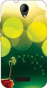 John Richard Printed Back Cover For Panasonic Eluga L2 Article-32046