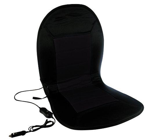 AZ-WAA-867 Beheizbare Sitzauflage, Schwarz /Schwarz