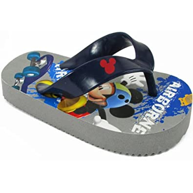 Disney Mickey Mouse MMS110 Flip Flop (Toddler),Blue,5 M US Toddler