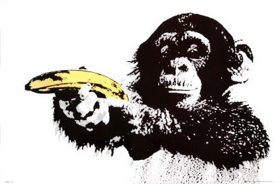 GB Eye Monkey Banana Shoot Poster