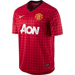 Manchester United Nike Home Replica Jersey