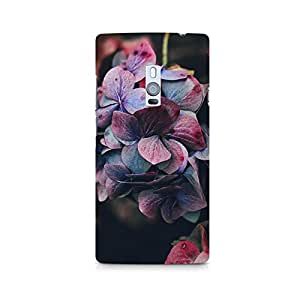 TAZindia Designer Printed Hard Back Case Cover For One Plus Two