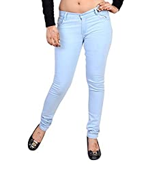 NGT Women's Sky Blue Jeans