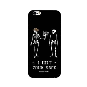 iSweven printed iph6sp_3189 I Got your Back Design Multicolored Matte finish Back case cover for Apple iPhone 6s plus