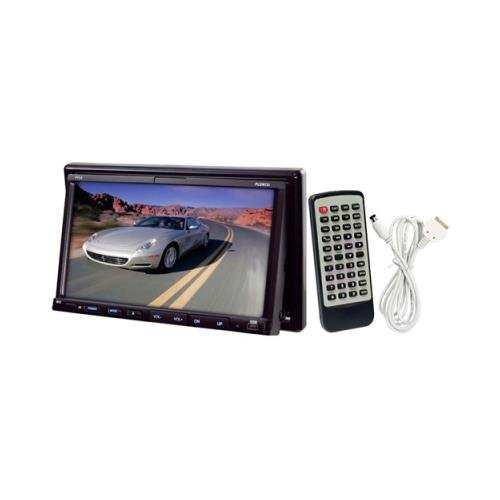 Pyle Pldn73i 7 Double Din Widescreen Touchscreen Monitor W/ Dvd & Bluetooth pyle h men of iron