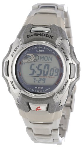 Casio Men's MTGM900DA-8 G-Shock Stainless Steel Multi-Function Digital Watch