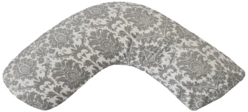 Luna Lullaby Bosom Baby Nursing Pillow, Dynasty Grey - 1