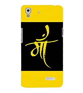 printtech Mother Maa Hinglish Quote Back Case Cover for Oppo R7