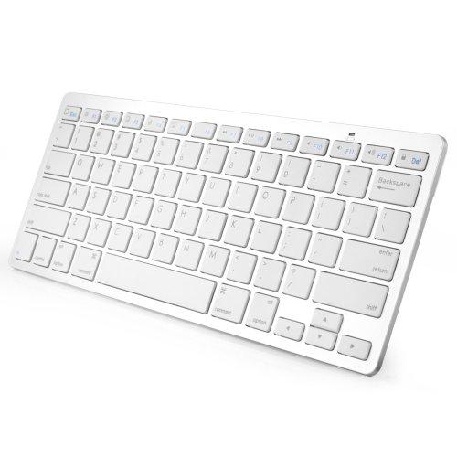 Anker ウルトラスリム・ミニ Bluetooth 3.0 ワイヤレスキーボード ホワイト (iPad Mini / iPad / Nexus 7 / Galaxy Tab / その他のタブレットで使用可能)