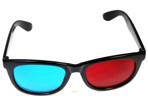 Rouge Bleu Cyan en plastique 3 D lunettes 3D BuyinCoins