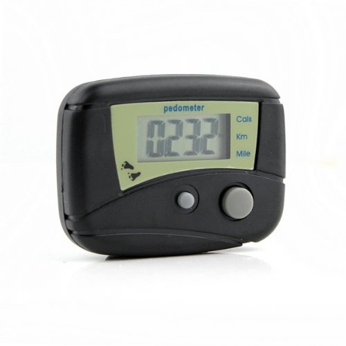 Image of LCD Pedometer Step Calorie Counter Walking Distance New (B007J6DSMU)